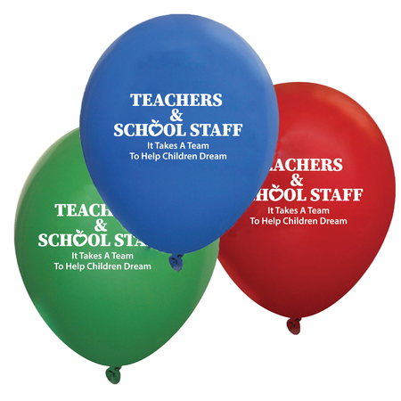 Teacher Appreciation Week Decorative Balloons