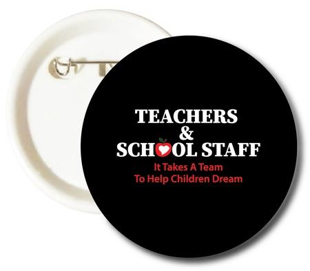 Teacher Appreciation Week Celebration Buttons