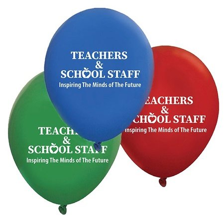Teacher & School Staff Appreciation Week Balloons