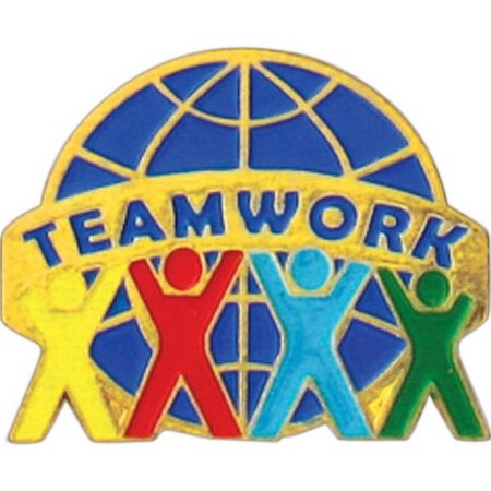 Teamwork Lapel Pin