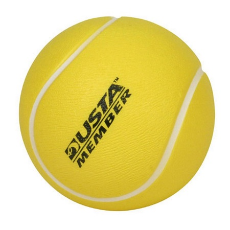 Personalized Tennis Ball Stress Relievers