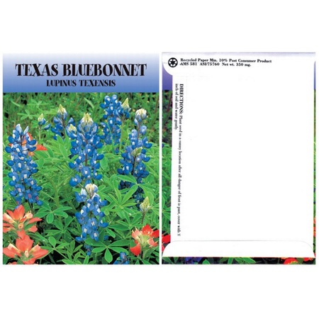 Texas Bluebonnet Flower Seed Packs