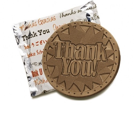 Thank You Chocolate Cookies
