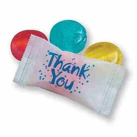 Thank You Wrapped Crystal Fruit Candy