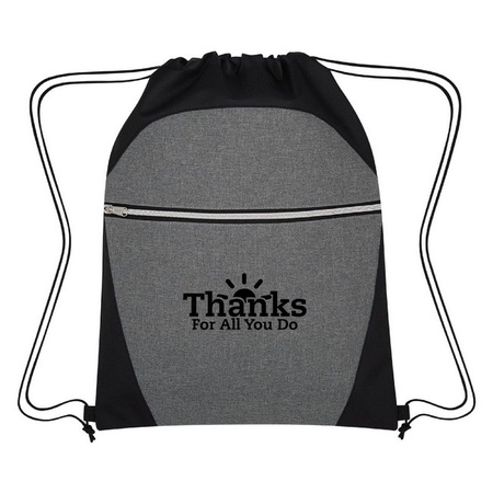 Thanks For All You Do Drawstring Sports Pack Staff Gift