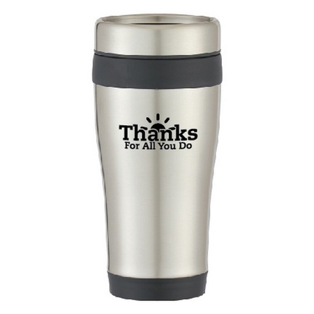 Thanks For All You Do Stainless Steel Tumbler Gift