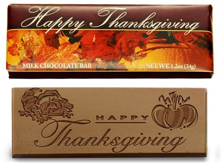 Thanksgiving Chocolate Bars