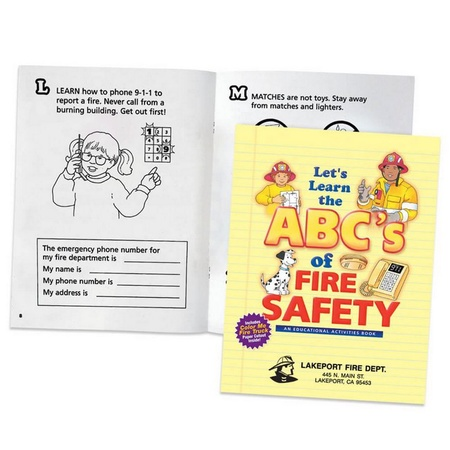 The ABC's Of Fire Safety Activities Book