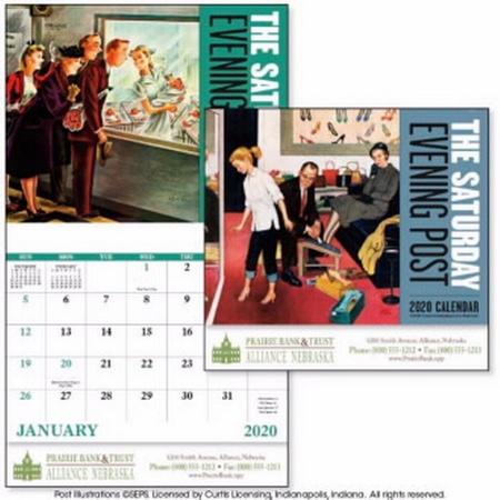 The Saturday Evening Post Calendar - 2020