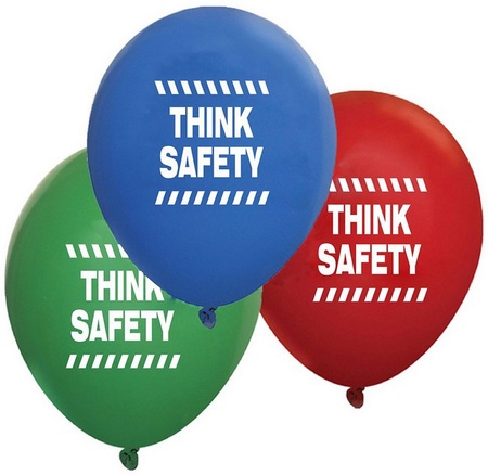 Think Safety Balloons