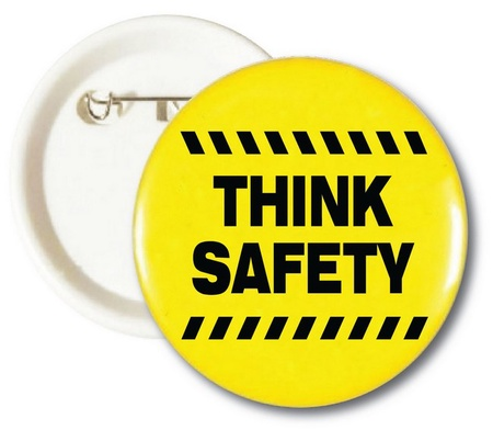 Think Safety Buttons