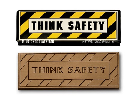 Think Safety Chocolate Bar