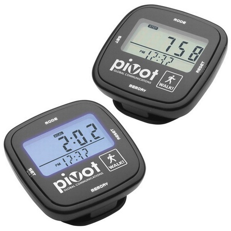 Touch Screen Pedometer with Imprint