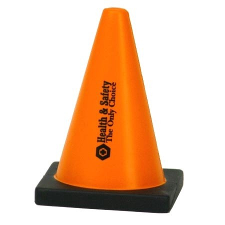 Traffic Cone Stress Ball