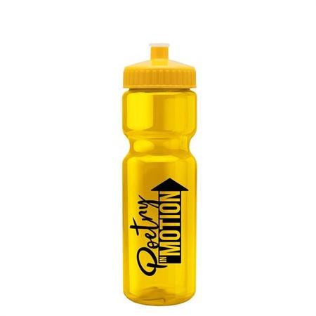 Custom 28 oz. Transparent Bottles
