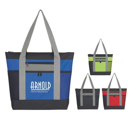Tri-Color Promotional Tote