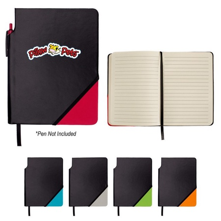 Triangle Notebook with Pen Holder