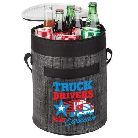 Truck Driver Appreciation Barrel Cooler Bag Gifts