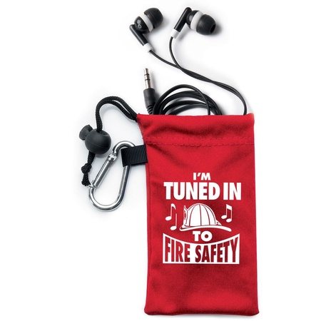 Tuned In To Fire Safety Ear Bud Kits