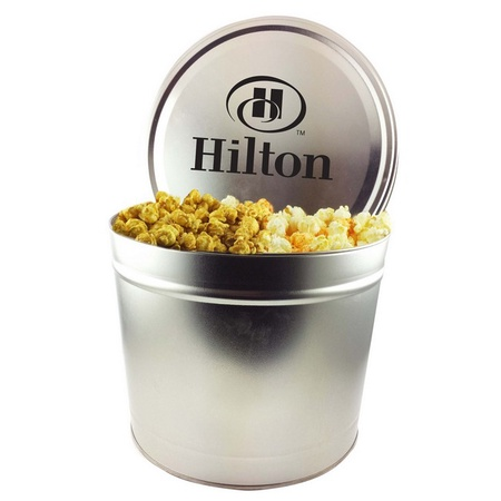 Custom Two Gallon Tins - Popcorn Trio