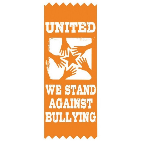 United We Stand Against Bullying Ribbons