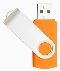 USB Swivel Flash Memory Stick - 4GB