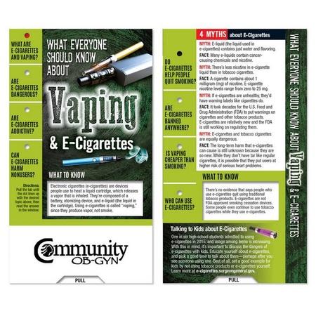 Vaping & E-Cigarettes Education Mini Slideguide