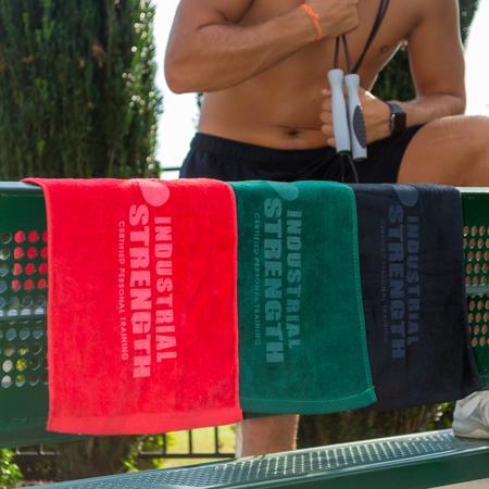 Velour Fingertip Sports Towel