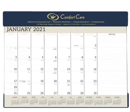 2021 Custom Vinyl Desk Calendar Pads