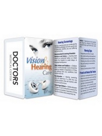 Vision & Hearing Care Key Points Wallet Card