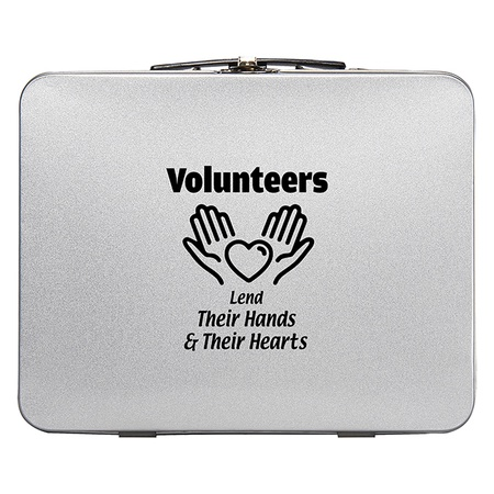 Volunteer Throwback Tin Lunch Box Gift