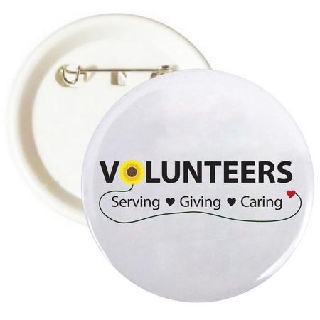 Volunteer Week Celebration Buttons
