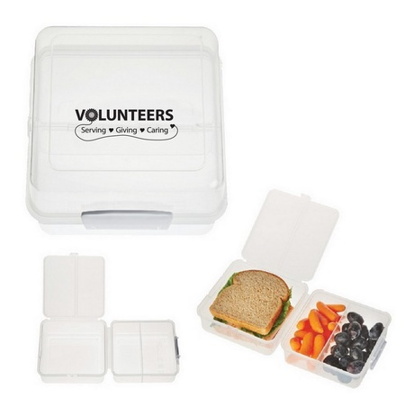Volunteers Gift Lunch Container