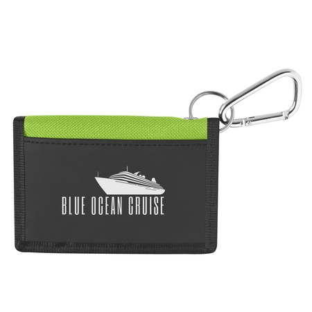 Custom Wallet with Carabiner