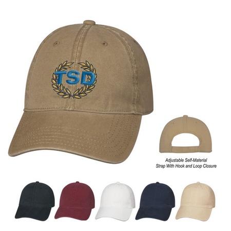 Washed Cotton Promo Caps