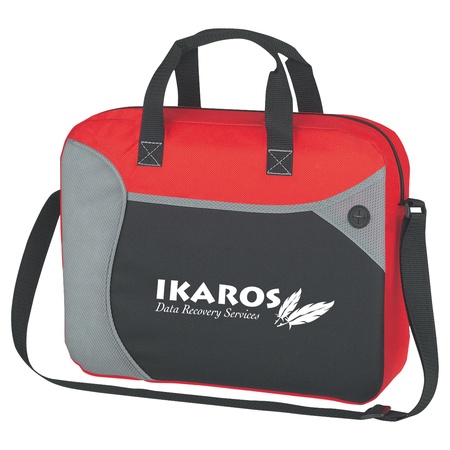 Wave Custom Briefcase Messenger Bags