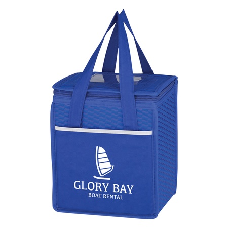 Wave Design Custom Non-Woven Cooler Lunch Bags