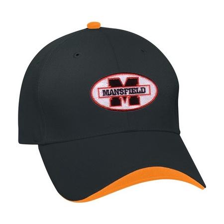 Customized Wave Sandwich Baseball Caps