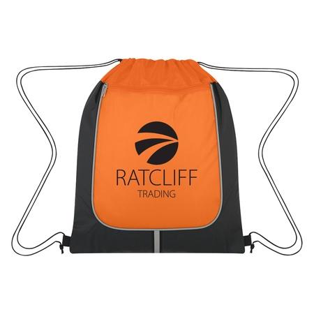 Wayfarer Stripe Custom Drawstring Sports Pack