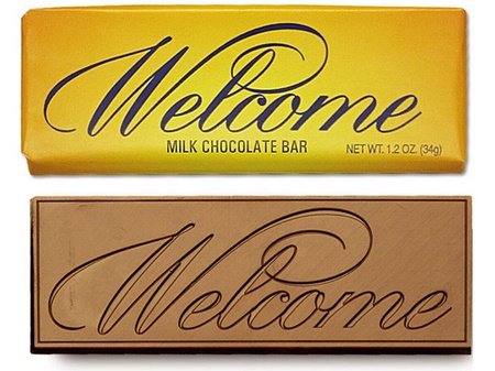 Welcome Chocolate Bar