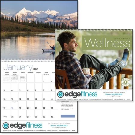 Wellness 2021 Promotional Wall Calendars