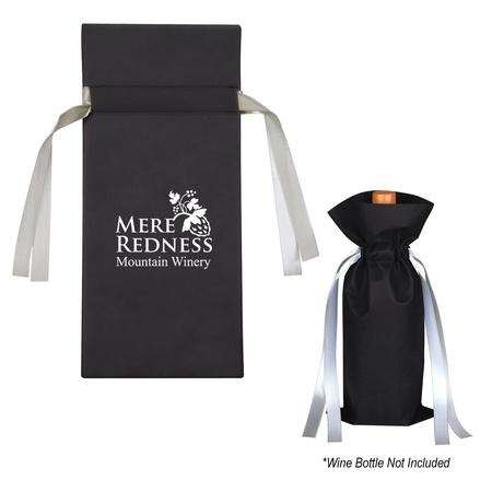 Promotional Wine Bottle Non-Woven Custom Gift Bags