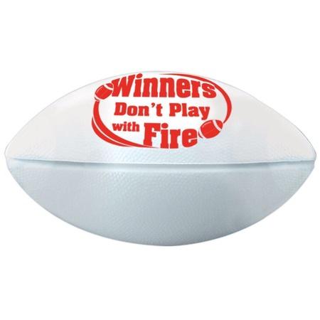 Winners Don't Play With Fire Mini Footballs