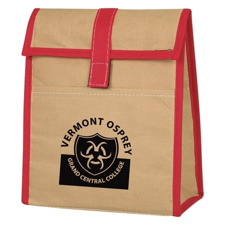 Woven Paper Customized Lunch Bags