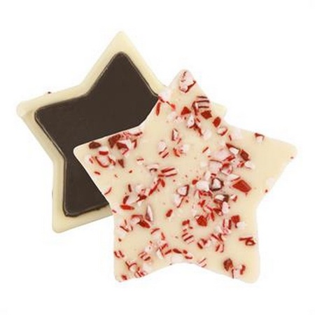 Custom Wrapped Peppermint Bark Shapes