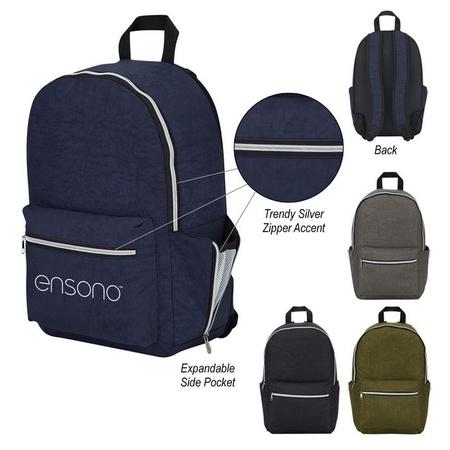 Wrinkled Nylon Promotional Backpacks
