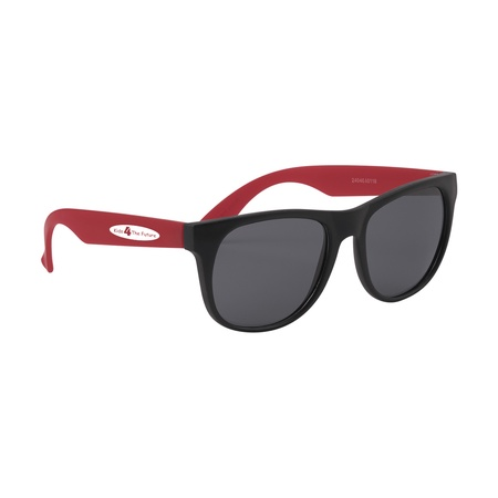 Youth Rubberized Sunglasses