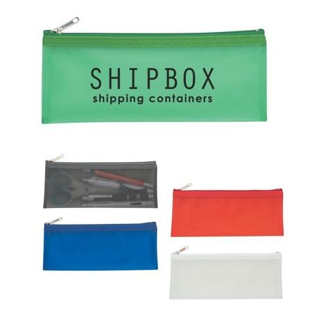 Custom Zippered Pencil Case