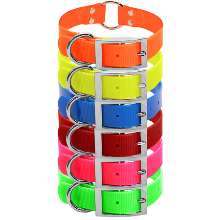 Dura-Lon Dog Collar, Double Ring Style