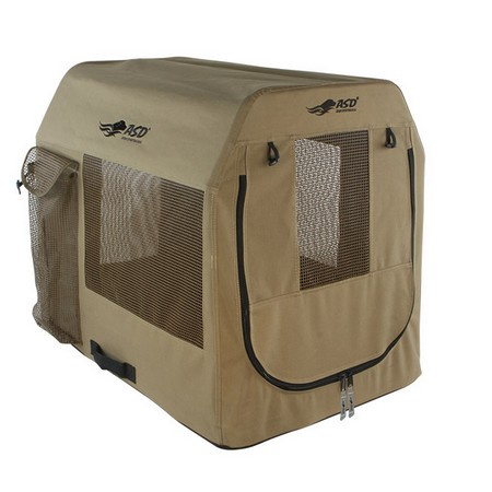 Avery, Quick Set Travel Dog Kennel, Marsh Brown, X Large